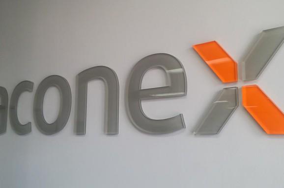 Final Aconex Acrylic Signage