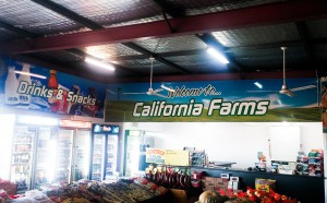 California Farms Fuel Station After
