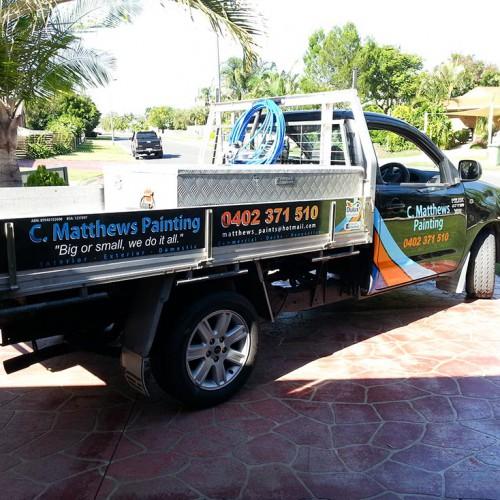 CMatthews Painting Vehicle Signage