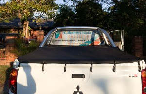 CMatthews Painting Vehicle Signage