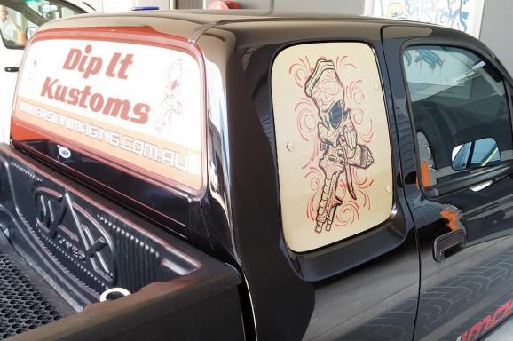 Dip It Kustoms Window Graphics