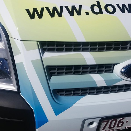 Dowell Windows Van Signage