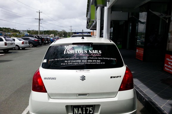 Fabulous Nails Vehicle Signage