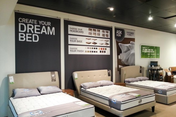 Snooze Store Signage Fit Out