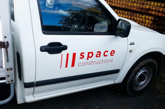 Space Constructions Ute Graphics