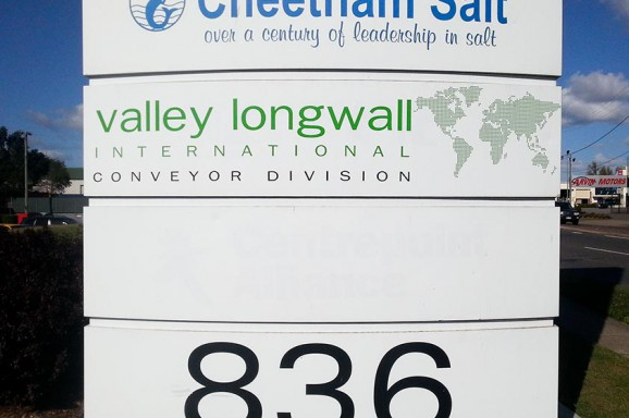 Valley Longwall Signage Fitout
