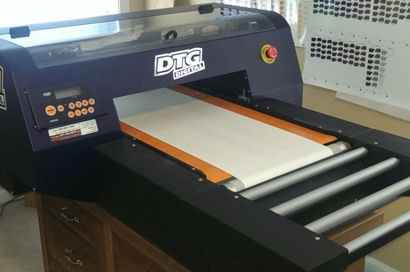 DTG T-Shirt Printing North Brisbane